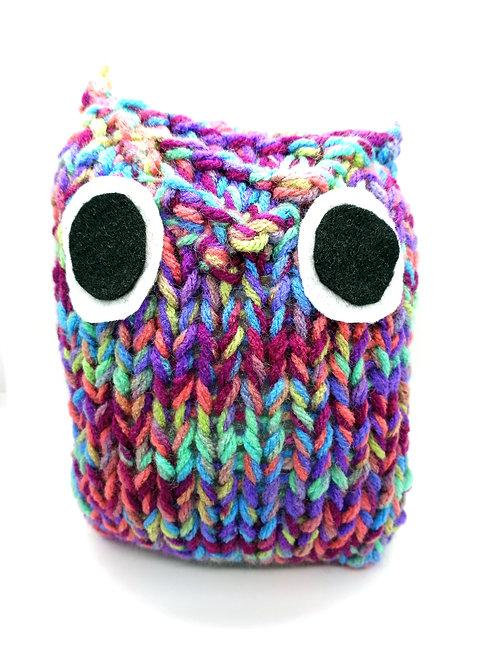 Multicolored Radical Owl Stuffed Toy