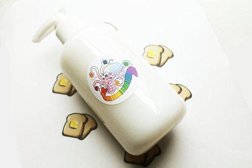 Buttered Toast Scented Vegan Liquid Soap