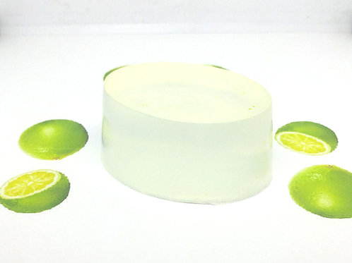 Lime Scented Soap Bar