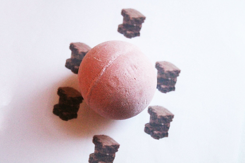 Hot Fudge Brownie Scented Vegan Bath Bomb