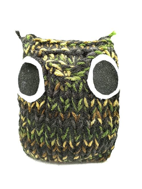 Black Camouflage Radical Owl Stuffed Toy