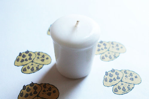 Chocolate Chip Cookie Scented Votive Candle