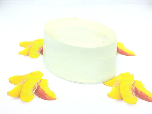 Sliced Peaches Scented Soap Bar