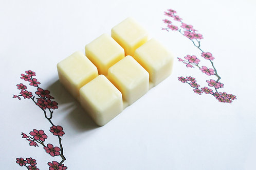 Japanese Cherry Blossom Scented Natural Wax Melts