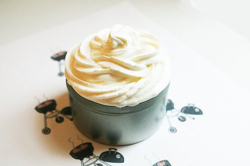 Barbeque Natural Vegan Whipped Soap