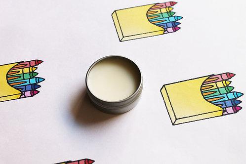 Crayon Scented Natural Lip Balm
