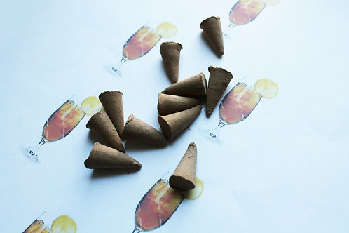 Lemon Tea Scented Cone Incense
