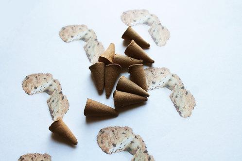 Zucchini Bread Scented Cone Incense