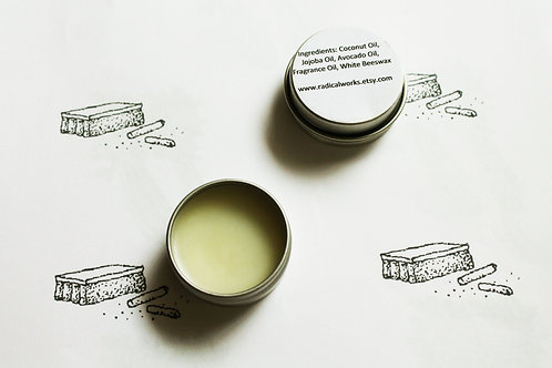 Chalk Scented Natural Solid Perfume