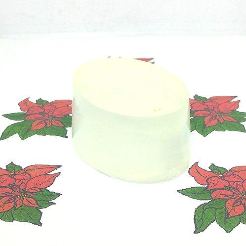 Poinsettia Scented Soap Bar