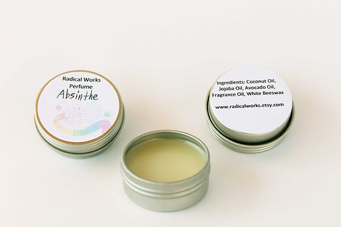 Absinthe Scented Natural Solid Perfume