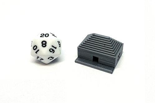 Aztec Cottage - 3D Printed Unpainted Miniature