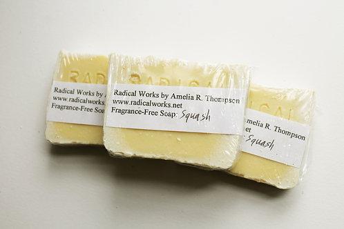 Squash Soap - Fragrance Free Natural Soap
