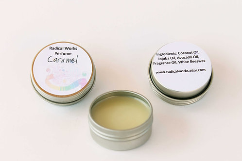Caramel Scented Natural Solid Perfume