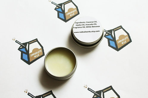 Chocolate Milk Scented Natural Solid Perfume