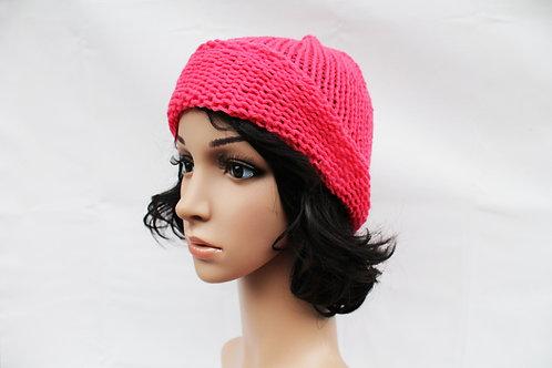 Hot Pink Beanie Hat