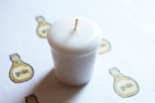 Bay Rum Scented Votive Candle
