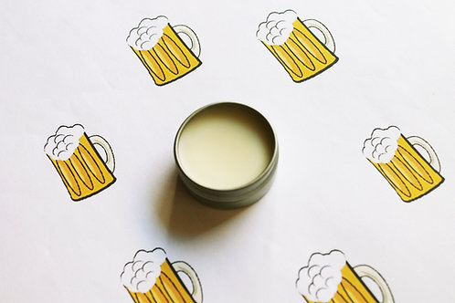 Beer Scented Natural Lip Balm