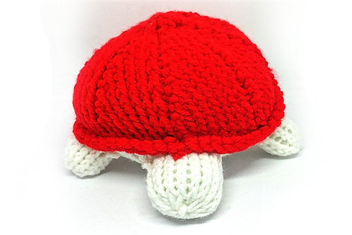 Red Small Turtle Plush Toy Animal