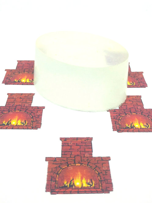 Fireplace Scented Soap Bar