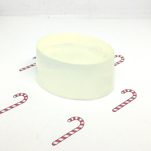 Candy Cane Scented Soap Bar