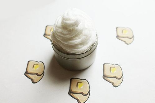 Buttered Toast Scented Whipped Body Butter