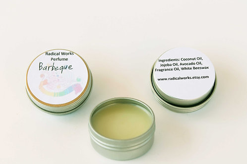 Barbeque Scented Natural Solid Perfume