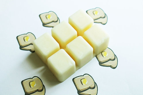 Buttered Toast Scented Natural Vegan Wax Melts