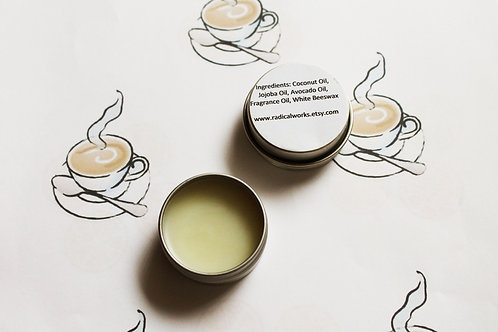 Cappuccino Scented Natural Solid Perfume