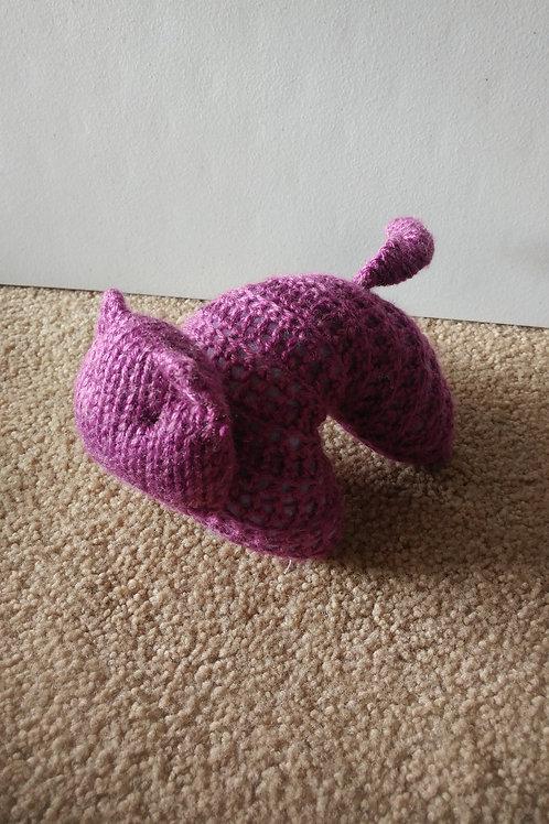 Purple Kitty Plush Toy Stuffed Animal