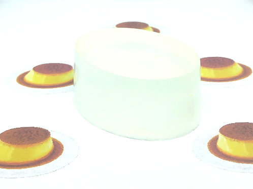 Flan Scented Soap Bar