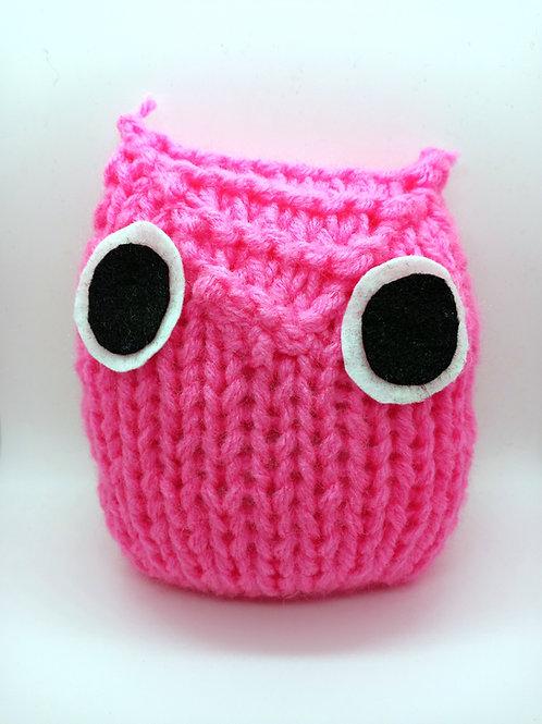 Pink Radical Owl Stuffed Toy