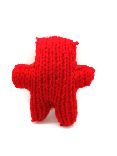 Red Tiny Radical Teddy Bear