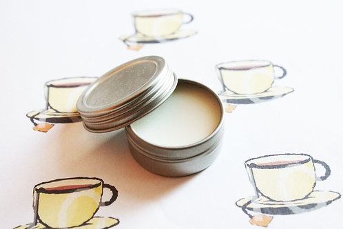 Tea Scented Natural Lip Balm