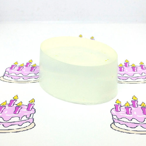 Birthday Cake Scented Soap Bar
