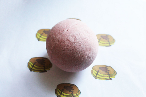 Buttermilk Pancakes Scented Vegan Bath Bomb