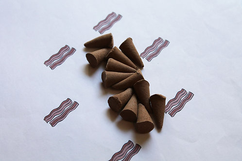 Hickory Smoked Bacon Scented Cone Incense