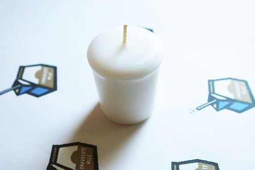 Chocolate Milk Scented Votive Candle