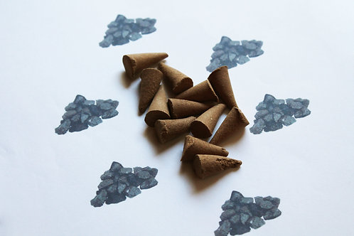Coal & Tar Scented Cone Incense
