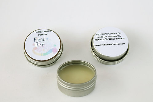 Fresh Dirt Scented Natural Solid Perfume