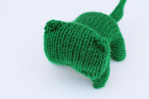 Green Kitty Plush Toy Stuffed Animal
