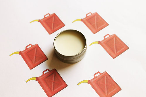 Gasoline Scented Natural Lip Balm