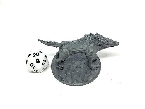 Worg - 3D Printed Unpainted Miniature