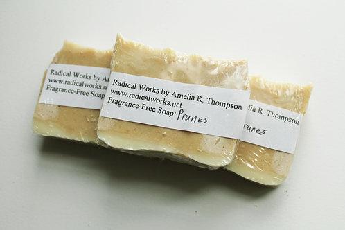 Prunes Soap - Fragrance Free Natural Soap