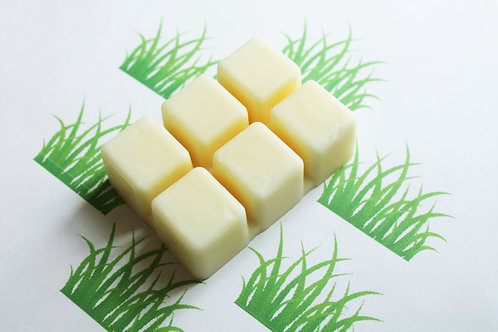 Fresh Cut Grass Scented Natural Vegan Wax Melts