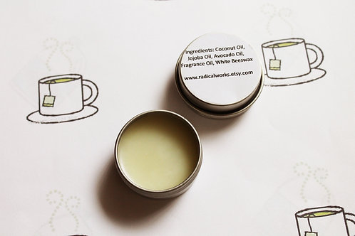 Green Tea Scented Natural Solid Perfume