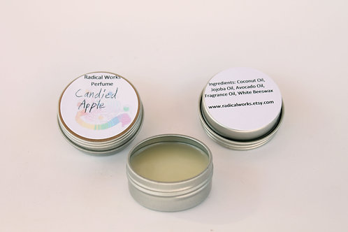 Candied Apple Scented Natural Solid Perfume