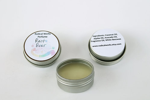 Root Beer Scented Natural Solid Perfume