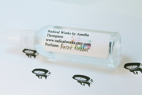 Burnt Rubber Scented Perfume Spray Cologne