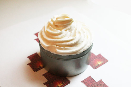 Fireplace Natural Vegan Whipped Soap
